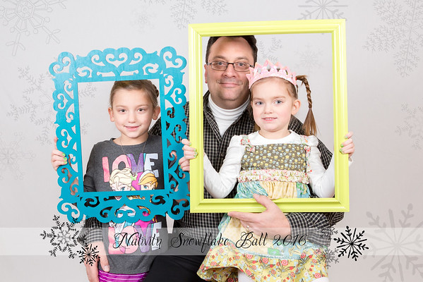 Nativity Snowflake Ball 2016