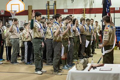 20150302 Troop 31, Lucy Wood Badge