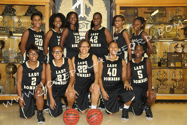 Midwest City Girls Basketball 2013