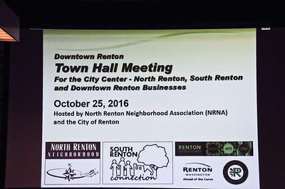 Renton Town Hall Meeting
