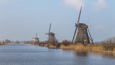 2016, Kinderdijk, Dortrecht, Breda, Amsterdam