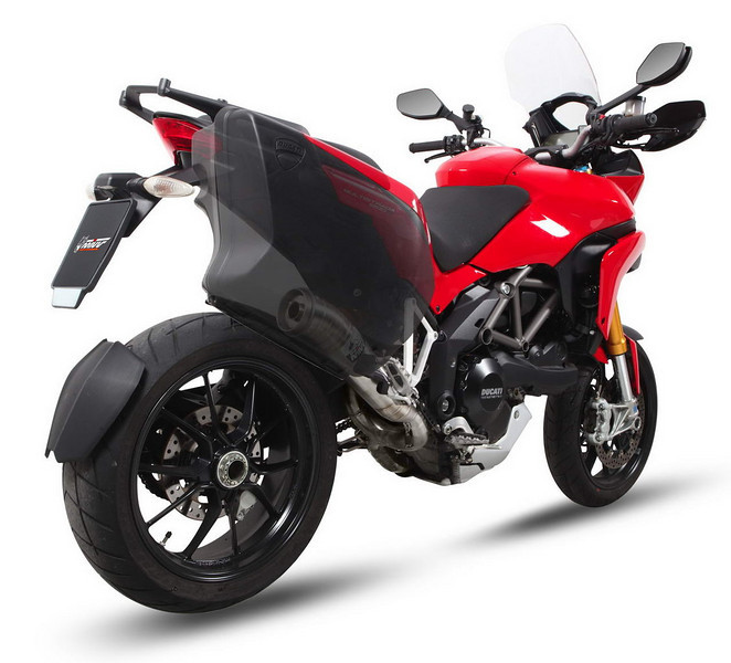 MIVV exhaust system for the Multistrada 1200 