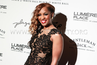 Nelly's 7th Annual Black And White Ball At the St. Louis Science Center (Red Carpet) 12-16-2012