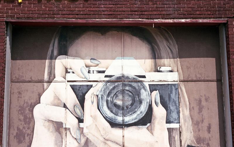 Mural in Dayton Ohio  Retina IIIc