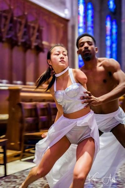 Dancers: Lani Dickinson and James Mario Bowen
