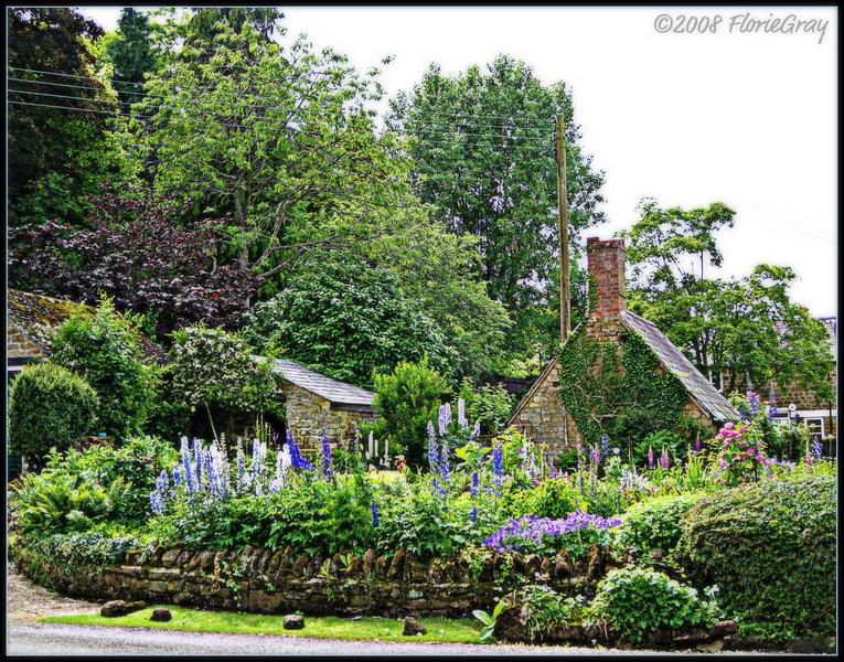 Fairytale Summer in a Fairytale Village  ©2008 FlorieGray, Wroxton