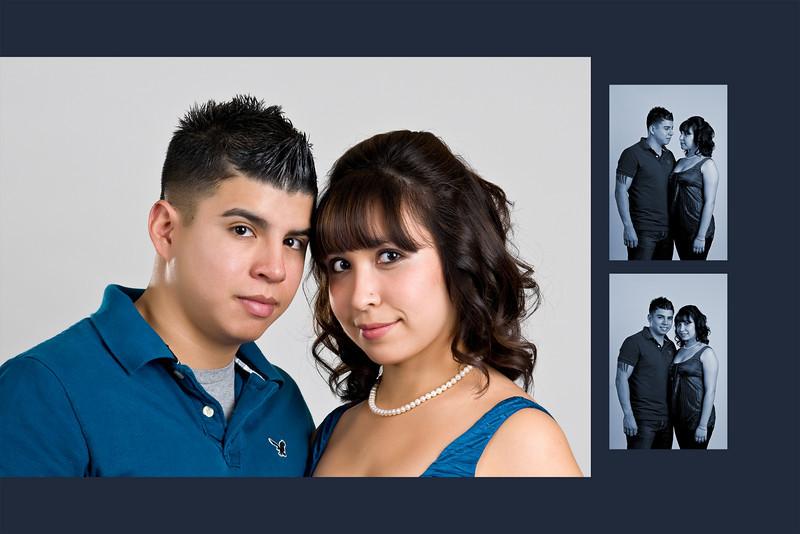 Garcia Engagement Portraits in Tucson
