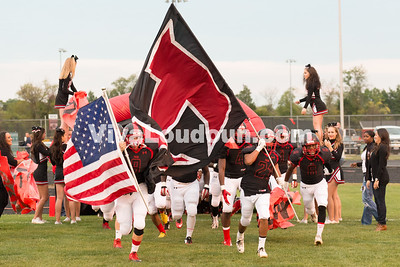 Football: Dominion vs. Heritage 9.19.14 (by Chas Sumser)