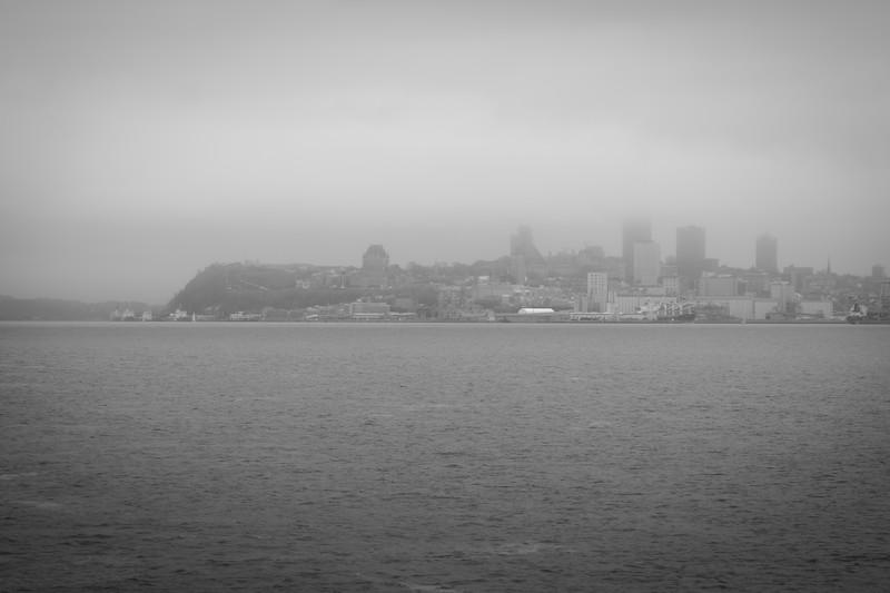 Foggy Quebec City