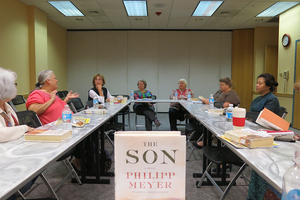 First Thursday Fiction Book Group May 01, 2014 The Son by Philipp Meyer