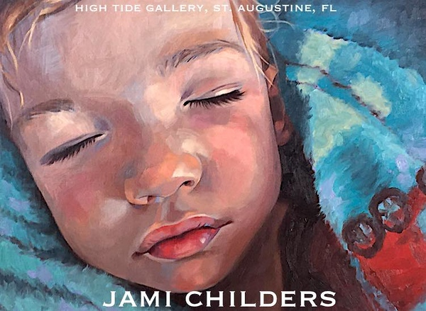 "JAMI CHILDERS ~ ""BOY BLUE"" ORIGINAL PAINTING"