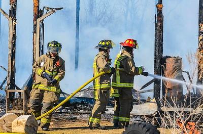 03-23-17 Bakersville FD Structure Fire