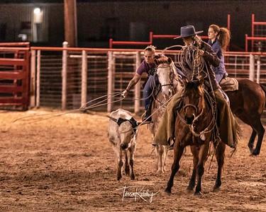 2021 Women's Ranch Rodeo Practice