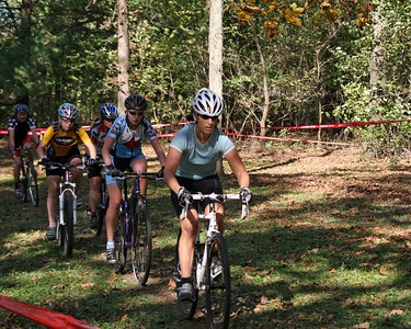 2007 Gibbs Lake Cyclocross - Cat 4 Women, Jrs