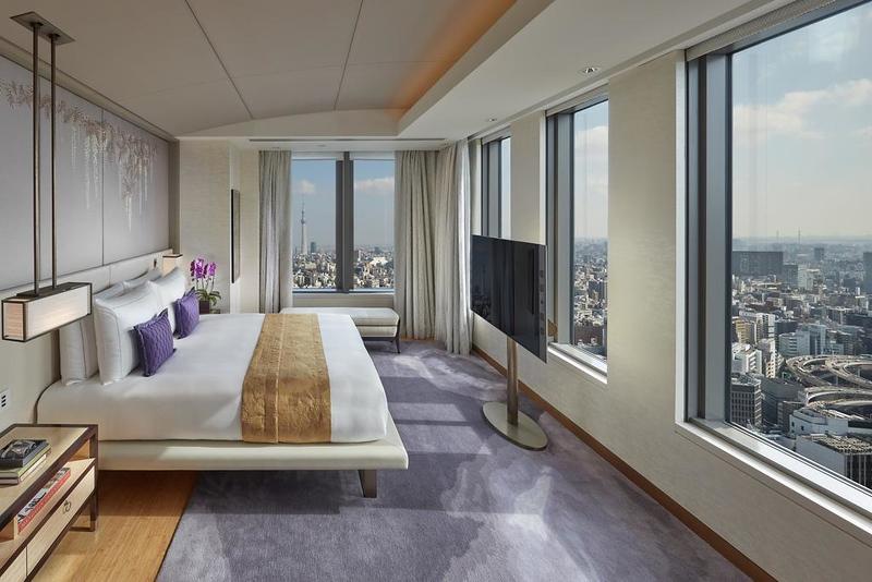 Mandarin Oriental Tokyo guest room