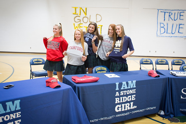 Athletes Sign NLIs