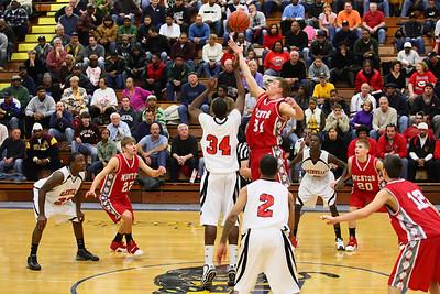 Mentor Varsity Basketball vs Glenville 2008