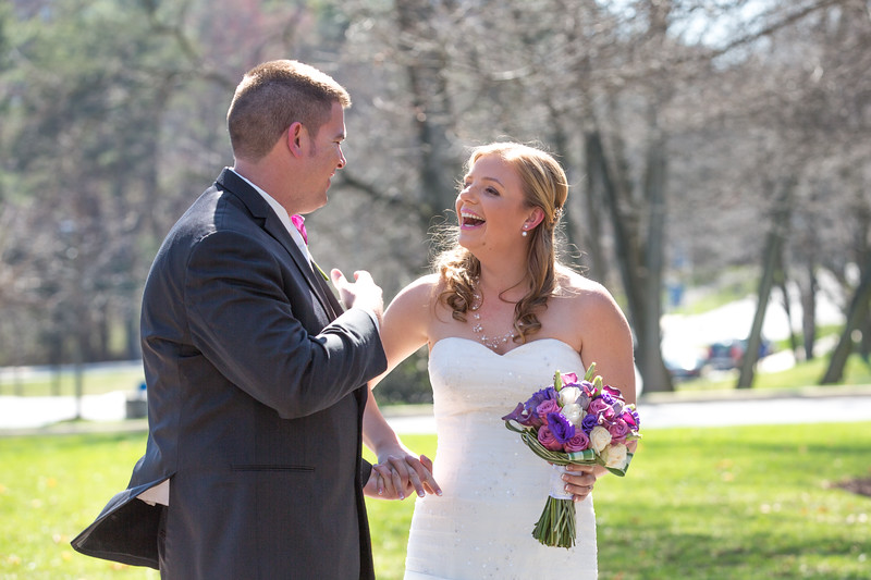 Laurien Hayes and Will Partington were married at Haebler Memorial Chapel at Goucher College with reception following at The Mansion at Valley Country Club on Saturday, April 11, 2015.