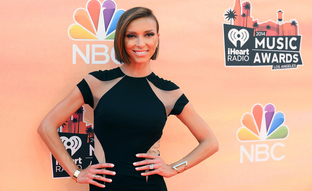 . Giuliana Rancic arrives at the iHeartRadio Music Awards at the Shrine Auditorium on Thursday, May 1, 2014, in Los Angeles. (Photo by Jordan Strauss/Invision/AP)