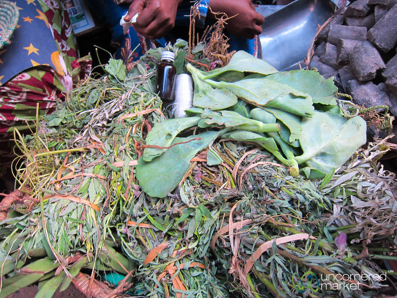 Traditional Medicine and Herbs at Owino Market, Kampala