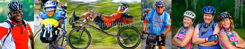 Cross-state Bikers