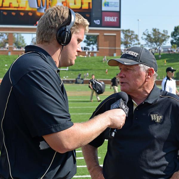 Michael Hoag interviews Coach Grobe.jpg