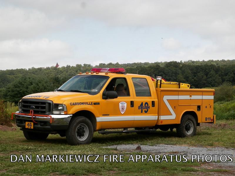 CARSONVILLE FIRE CO. BRUSH 19 2003 FORD/CFC BRUSH UNIT