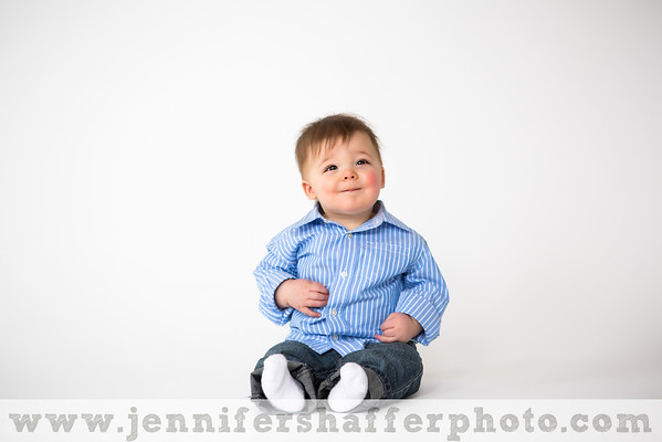 Liam 9 Month Session Highlights