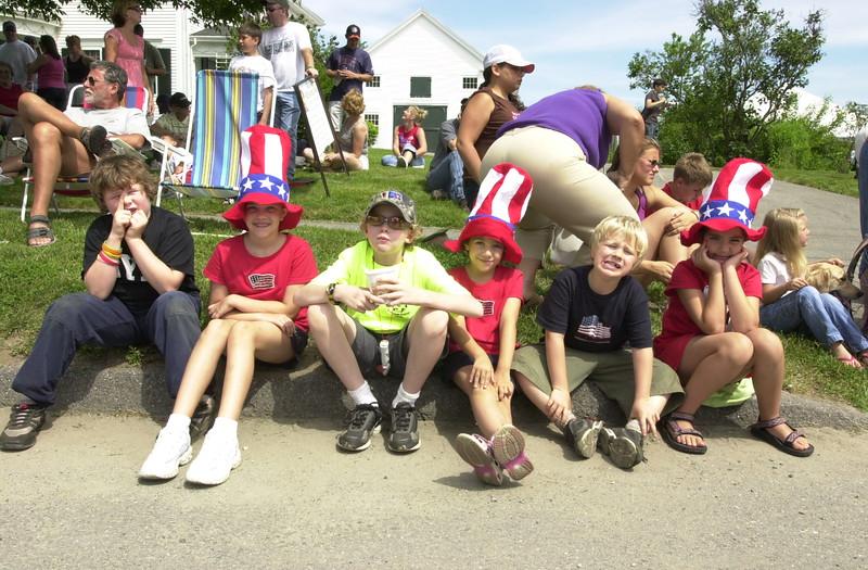 *** Local Caption *** 7/05 Russ Dillingham photos Kids  Family Boys Spruce head 2005