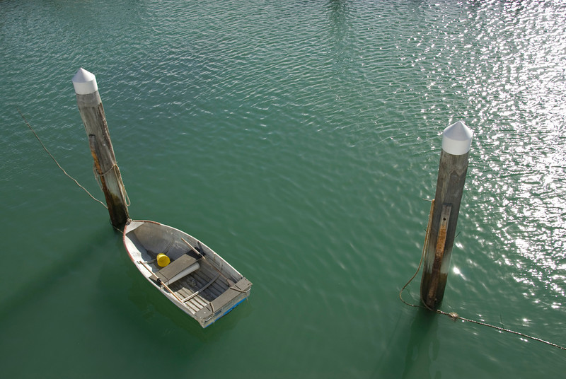 Row boat At Dock, Fraser Island - Queensland, Australia.jpg