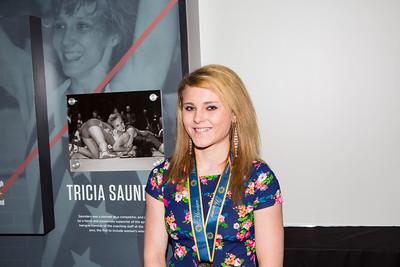 Katie Brock, Tricia Saunders High School Excellence Award