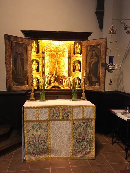 All saints Altar, Easter Day