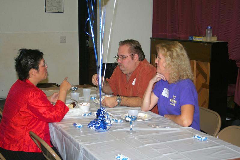 Janice, Richard, and Michele