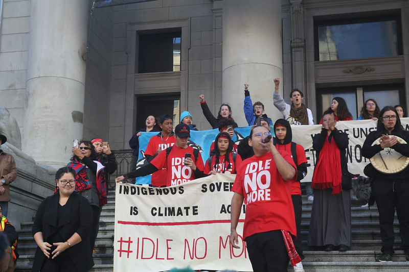 Climate demonstration Vancouver Oct. 25th 2019