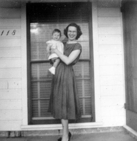 Janice Smock Easter Day 1952