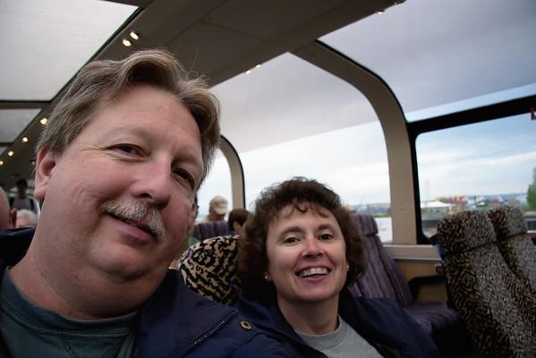 McKinley Explorer - Anchorage to Fairbanks - June 2009