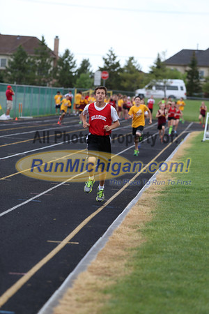 1600 Meter - 2013 Northville Middle School Dual Meet