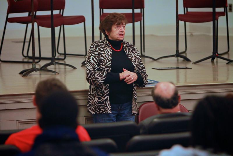 Holocaust Survivor Ela Wiessberger speaks to classes and students at Gardner-Webb University.