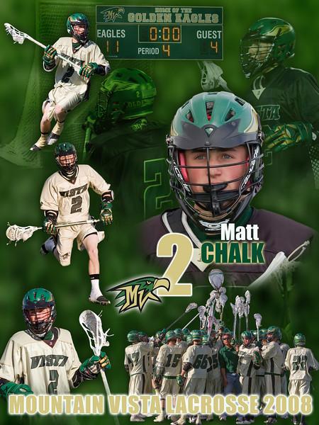 2008 MVHS Lacrosse Senior Posters