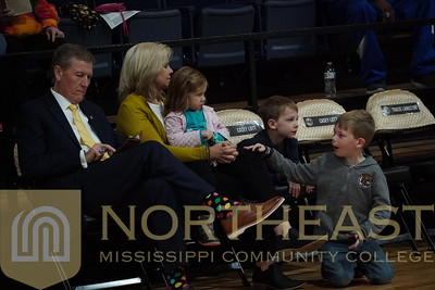2019-11-07 FANS Ford Family at Basketball Game