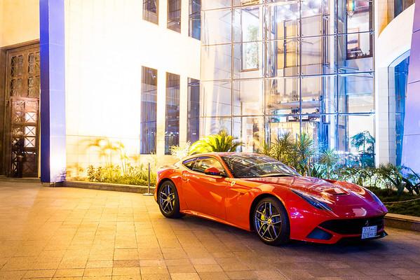 Ferrari Test Drive @ Rosewood Hotel