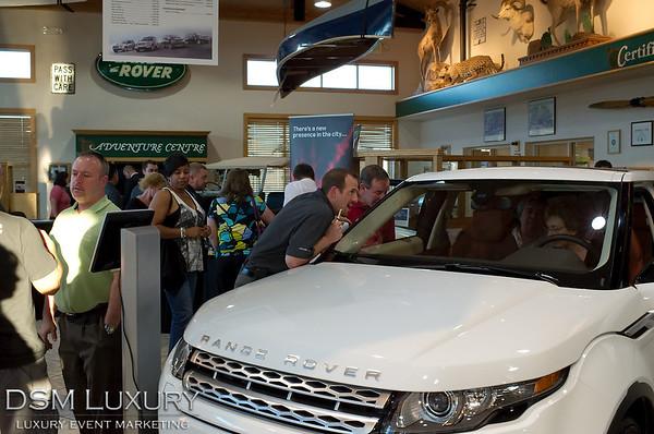 Land Rover Evoque Launch Event Las Vegas