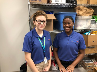 2019 Work Study Students at Food for the Soul Soup Kitchen