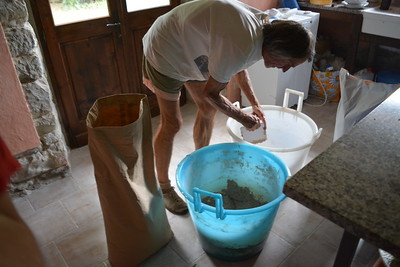 Poss Making Bread