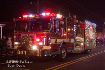 12/1/2012, Blackwood Fire Co. Christmas Parade, Camden County NJ
