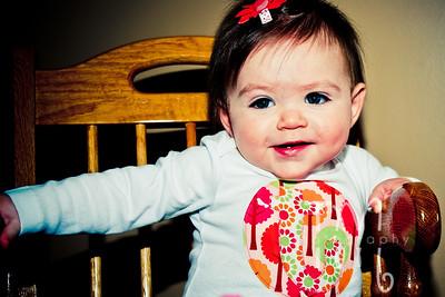 Taryn Evelyn 10 Months