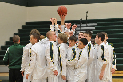 Boys Varsity Basketball - Creston 2010 Districts