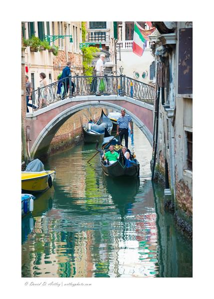 Canal scenes, Venice, Italy