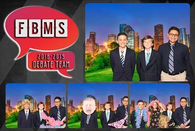 FBMS Debate Team - 5.21.2019