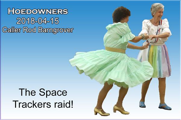 2018-04-15 Hoedowners - Space Trackers Raid